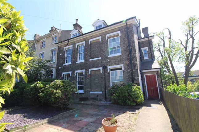 Thumbnail End terrace house for sale in Woodbridge Road, Ipswich, Suffolk