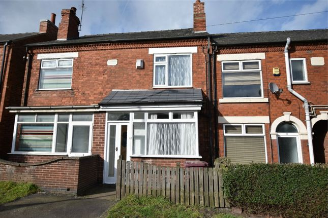 Thumbnail Terraced house for sale in The Common, South Normanton, Alfreton, Derbyshire