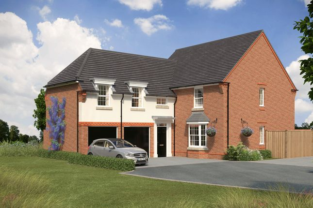 "Thumbnail Detached house for sale in ""Oulton"" at Bush Heath Lane, Harbury, Leamington Spa"
