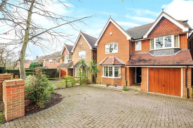 Thumbnail Detached house to rent in Nine Mile Ride, Wokingham, Berkshire