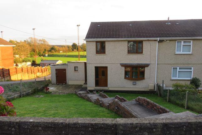 Thumbnail Semi-detached house for sale in Dolafon, Bynea Llanelli