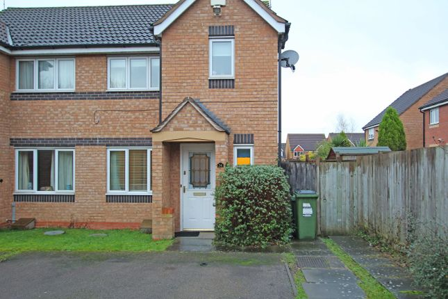 Thumbnail Semi-detached house for sale in Vyner Close, Leicester