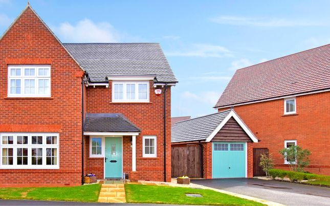 Thumbnail Detached house for sale in Miller Meadow, Leegomery, Telford