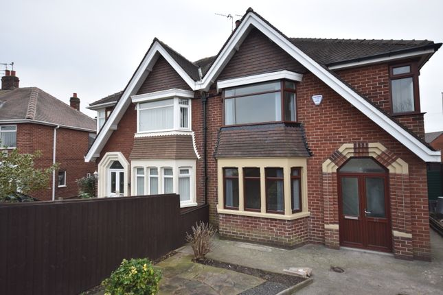 Thumbnail Semi-detached house to rent in Plymouth Road, Blackpool, Lancashire