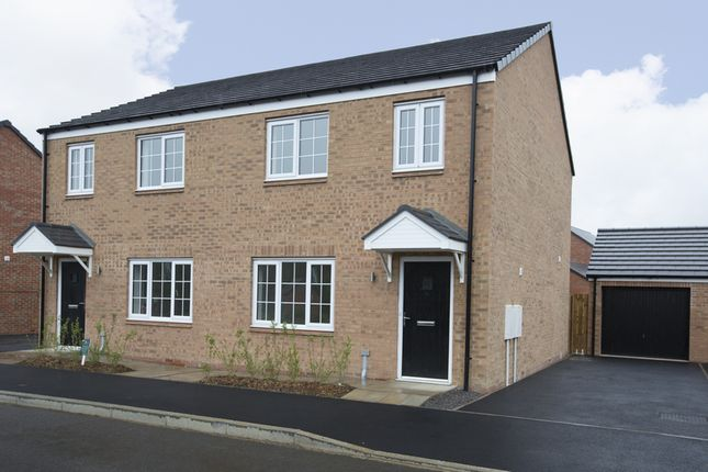 Thumbnail Semi-detached house for sale in Stannington Park, Off Green Lane, Stannington