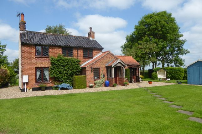 Thumbnail Cottage for sale in Cinder Lane, Church Lane, Wheatacre, Beccles