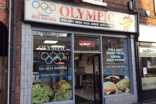 Thumbnail Restaurant/cafe for sale in Victoria Road, Netherfield, Nottingham