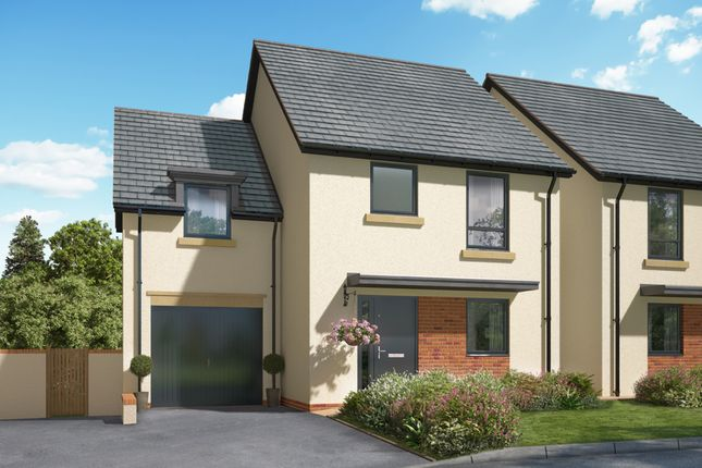 "Thumbnail Semi-detached house for sale in ""The Tulip"" at North Road Industrial Estate, Okehampton"