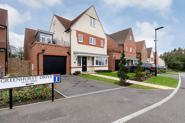 Thumbnail Detached house for sale in Greenhurst Drive, East Grinstead
