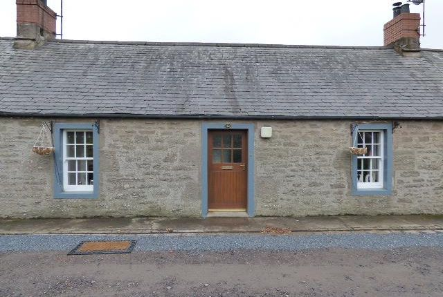 Thumbnail Cottage to rent in 14 The Row, Douglastown, Forfar