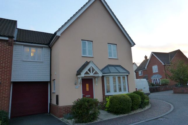 Thumbnail Link-detached house for sale in Bristol Road, New Costessey, Norwich