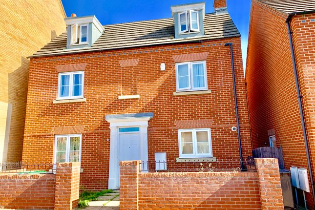 Thumbnail Detached house to rent in Ashmead Road, Bedford