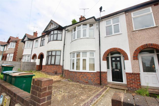 Thumbnail Terraced house to rent in William Bristow Road, Cheylesmore, Coventry, West Midlands