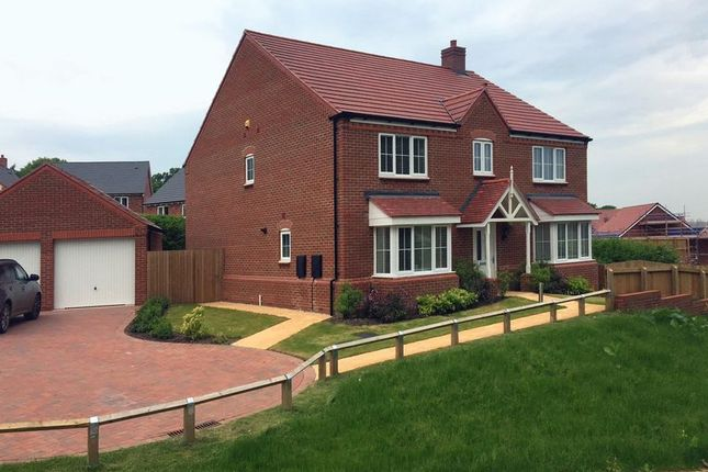 Thumbnail Detached house to rent in 24, Wheelwright Drive, Eccleshall, Staffordshire