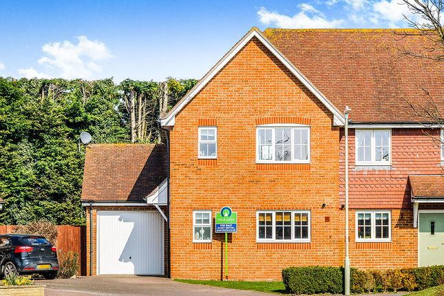 Thumbnail Semi-detached house for sale in Wye Green, Herne Bay
