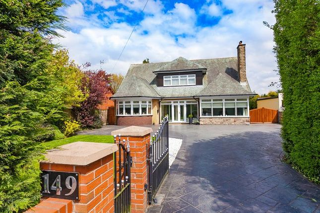 Thumbnail Detached house for sale in Wigan Road, Standish, Wigan