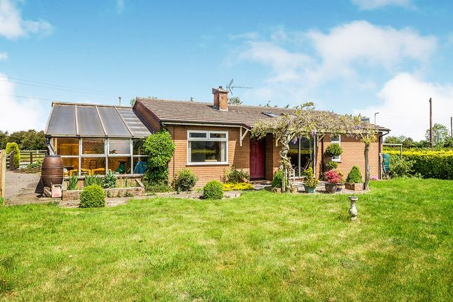 Thumbnail Bungalow for sale in Oaklea, Llandrinio, Llanymynech, Powys