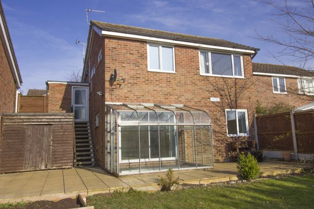 Thumbnail Detached house to rent in Highview Close, Sudbury, Suffolk