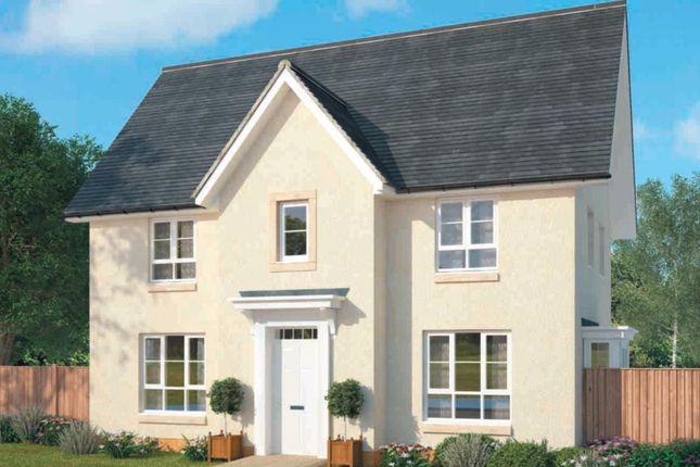 "Thumbnail Detached house for sale in ""Craigcrook"" at Falkirk Road, Bonnybridge"