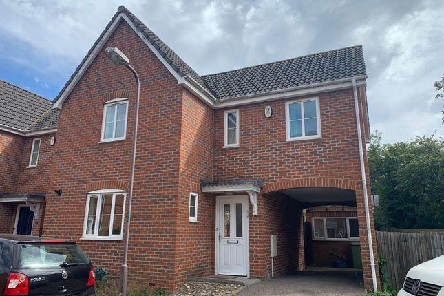 Thumbnail Detached house to rent in Edwards Croft, Bradville, Milton Keynes