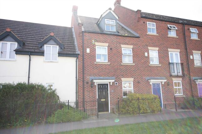 Thumbnail Town house for sale in Cropston Road, Anstey, Leicester