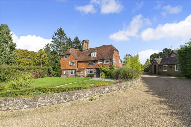 Thumbnail Detached house for sale in Hophurst Place, Hophurst Lane, Crawley Down, West Sussex