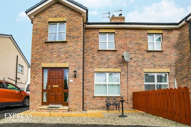 Thumbnail Semi-detached house for sale in Castlewood Crescent, Dervock, Ballymoney, County Antrim