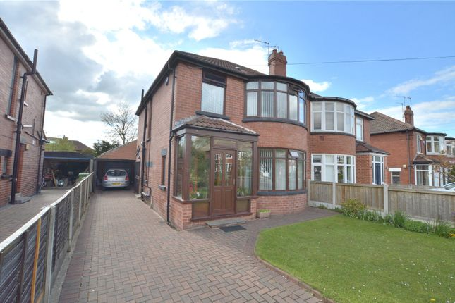 3 bed semi-detached house for sale in Bideford Avenue, Roundhay, Leeds LS8