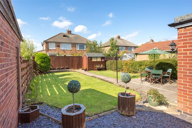 Thumbnail Semi-detached bungalow for sale in Whitethorn Close, York