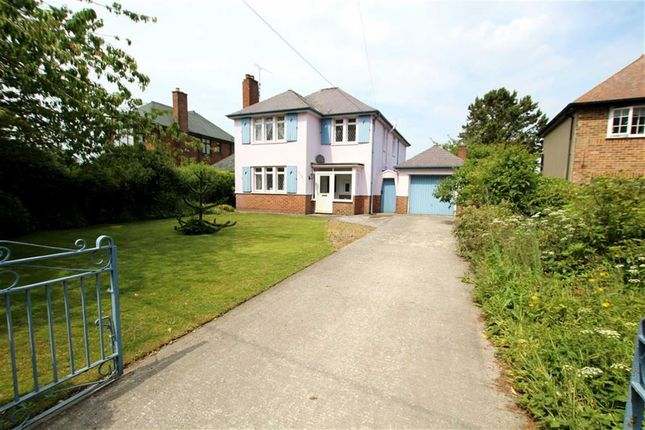 Thumbnail Detached house for sale in Gwernaffield Road, Mold, Flintshire