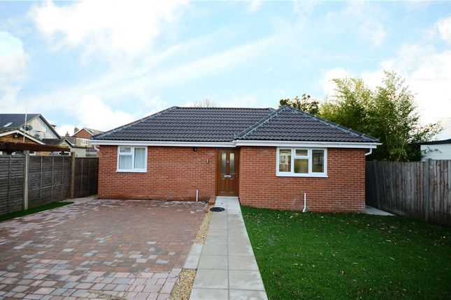 Thumbnail Detached bungalow for sale in Florence Road, College Town, Sandhurst