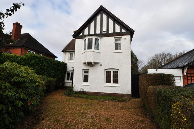 Thumbnail Detached house to rent in Oakfield Road, Selly Park, Birmingham