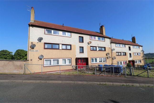 Thumbnail Flat for sale in Cluny Park, Cardenden, Fife