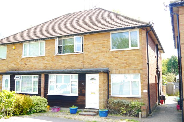 Thumbnail Maisonette for sale in Wash Road, Hutton, Brentwood