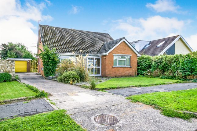 Thumbnail Detached bungalow for sale in Robinswood Crescent, Penarth