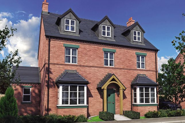 Thumbnail Detached house for sale in The Dove, Burton Road Tutbury, Staffordshire