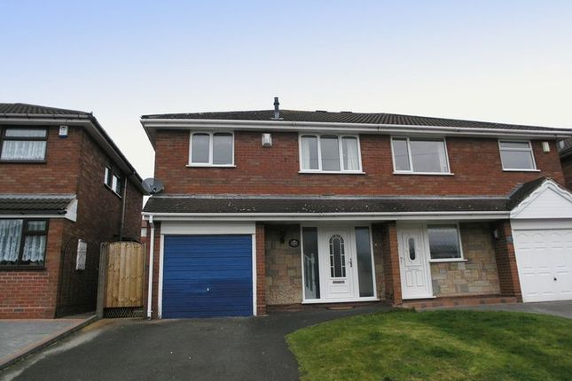 Thumbnail Semi-detached house for sale in Brierley Hill, Quarry Bank, Andrews Close