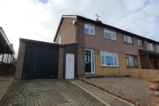 Thumbnail Semi-detached house for sale in Netherend Road, Penrith, Cumbria