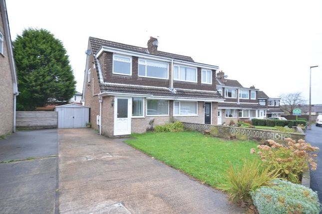 Thumbnail Semi-detached house to rent in Crediton Close, Blackburn