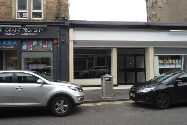 Thumbnail Retail premises to let in 24 Upper Craigs, Stirling