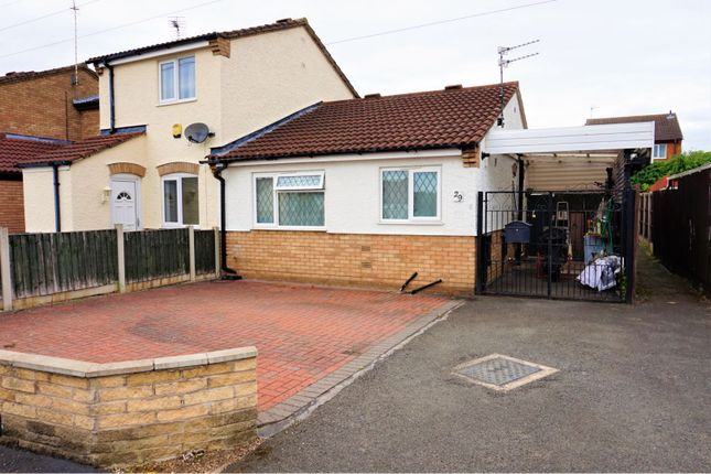 Thumbnail Semi-detached bungalow for sale in Luccombe Drive, Alvaston, Derby