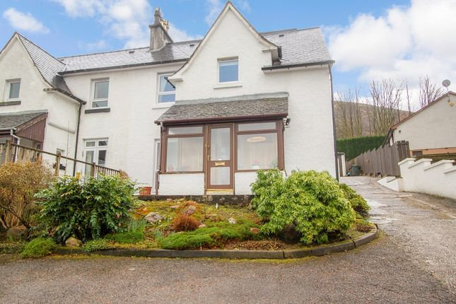 Thumbnail Semi-detached house for sale in Alma Road, Fort William, Inverness-Shire