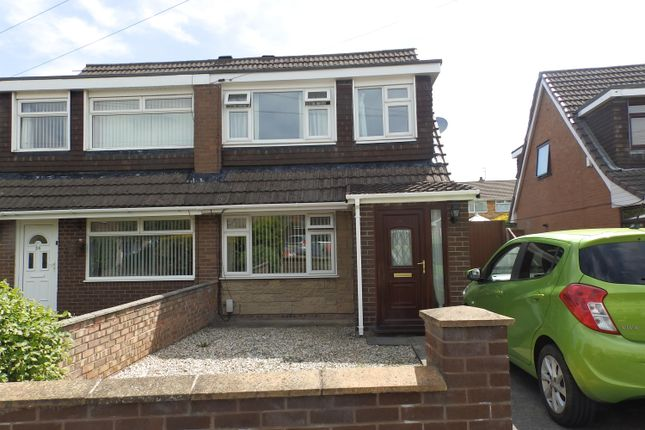 Thumbnail Semi-detached house to rent in Budworth Road, Great Sutton, Ellesmere Port