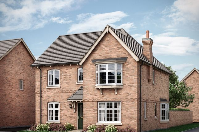 "Thumbnail Detached house for sale in ""4 Bedroom Detached House With Detached Garage"" at Southwell Close, Melton Mowbray"