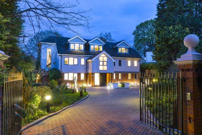 Thumbnail Detached house to rent in Coombe Hill Road, Kingston Upon Thames, Surrey