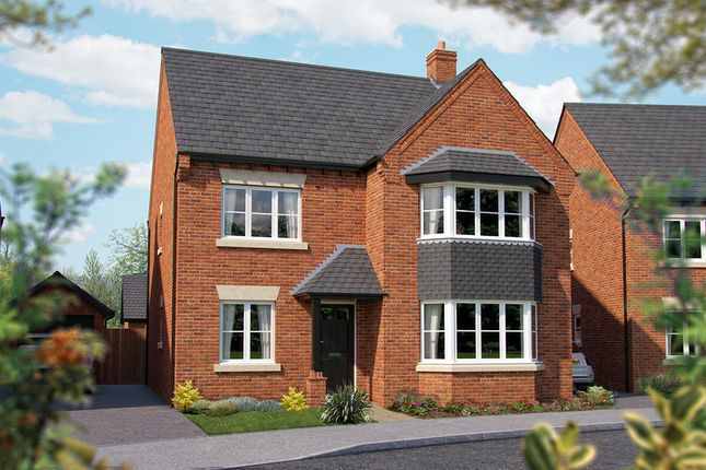 "Thumbnail Detached house for sale in ""The Oxford"" at Haygate Road, Wellington, Telford"