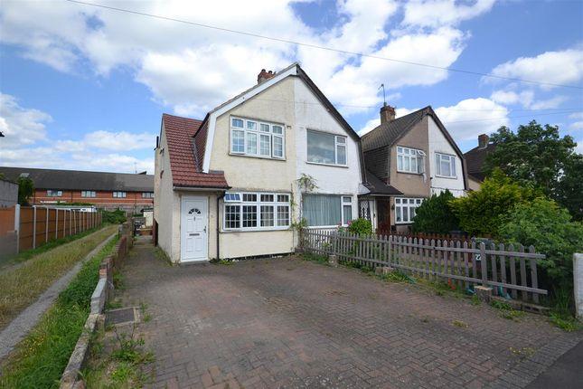 Thumbnail Semi-detached house for sale in East Road, Bedfont, Feltham