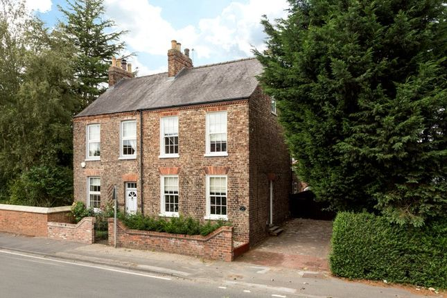 Thumbnail Semi-detached house for sale in Main Street, Fulford, York