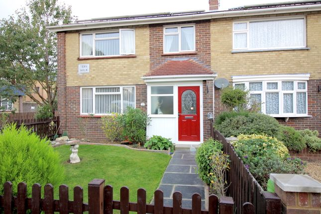 Thumbnail End terrace house to rent in Tern Walk, Southsea