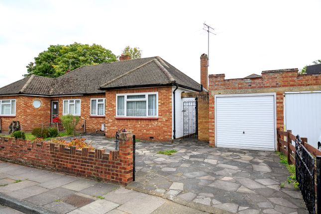 Thumbnail Semi-detached bungalow for sale in Latham Close, Twickenham